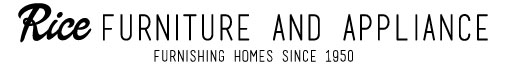 Rice Furniture & Appliance Logo